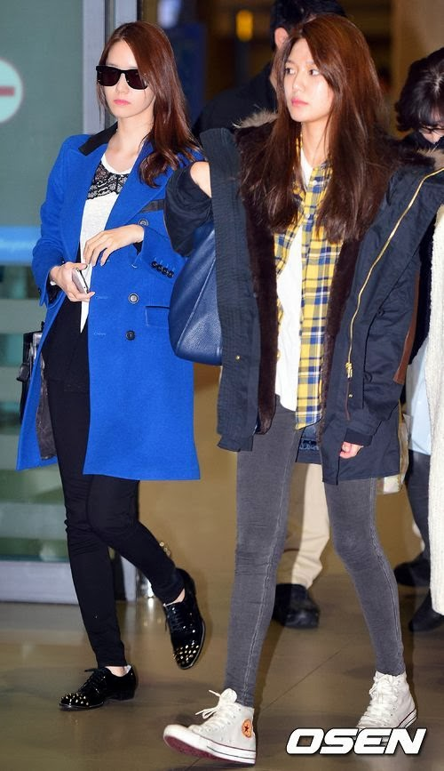 Girls`Generation's Photos from their Arrival in South Korea from Hong Kong!