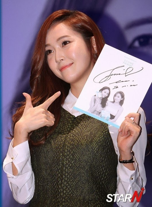 Girls`Generation's Jessica Went to STONEHENgE's Signing Event!