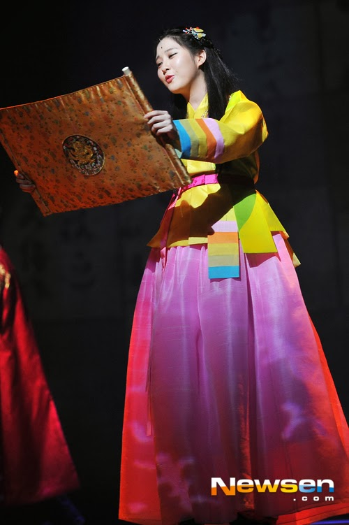 Girls`Generation's Seohyun At The 'The Moon that Embraces the Sun' Musical Press Call!