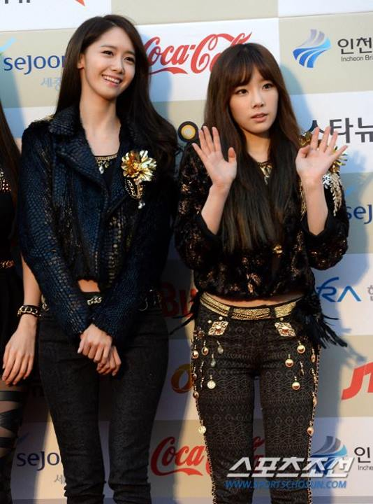 Girls`Generation at 3rd K-Pop Gaon Chart Award's Red Carpet Event!