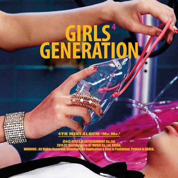 Girls`Generation's 4th Mini Album 'Mr. Mr.' Released!