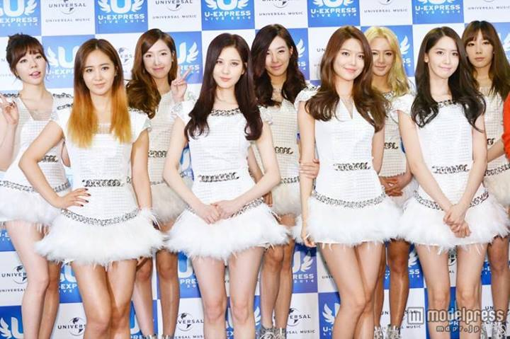 Girls`Generation at 'U-Express 2014' Event in Japan!
