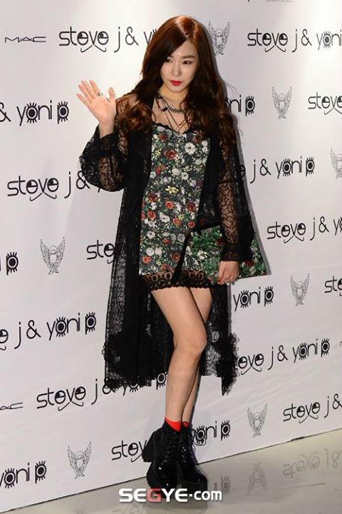 Girls`Generation's Tiffany at Steve J & Yoni P's Fashion Event!