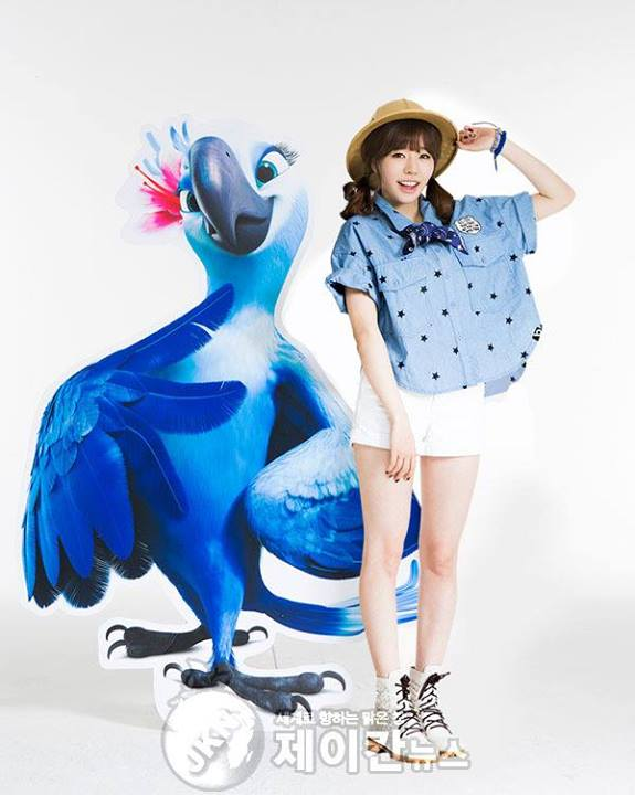 Girls`Generation's Sunny Will be Dubbing Korean Version of the Animation Movie 'RIO 2'