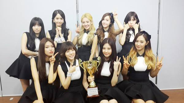 Girls`Generation's 'Mr. Mr.' Won 1st Place From This Week's 'Show Champion'!