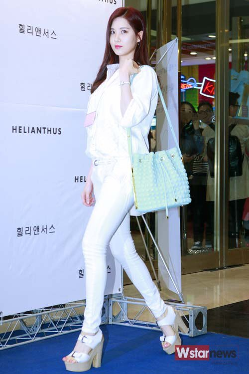 Girls`Generation's Seohyun at Helianthus Event!