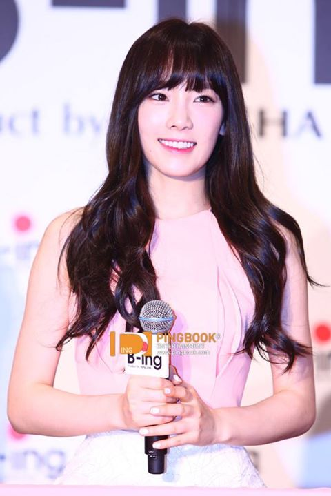Girls`Generation's Taeyeon at B-ING's Event!