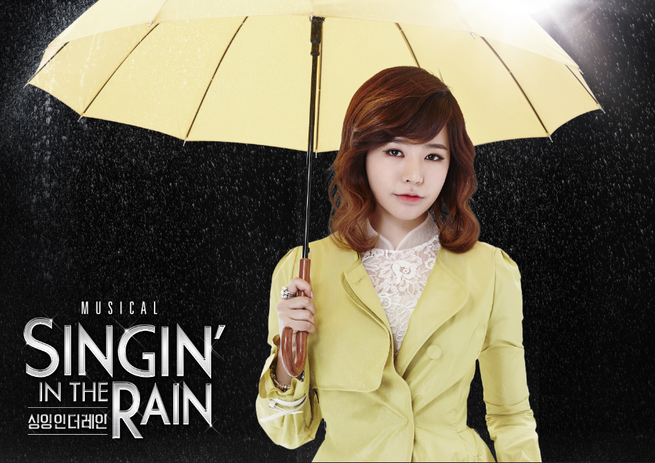 Girls`Generation's Sunny As Lead Female in the Musical 'Singing in the Rain'!