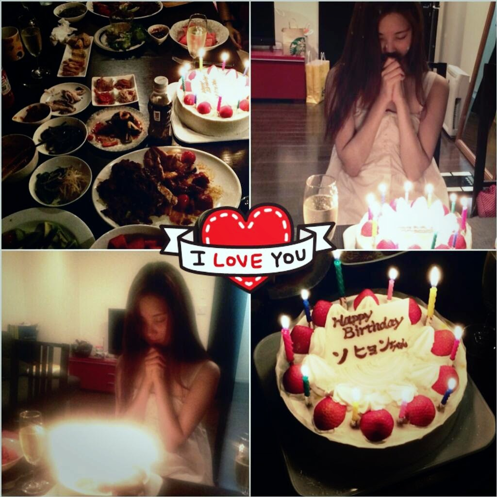 Girls`Generation Seohyun's Birthday Celebration and Gratitude!